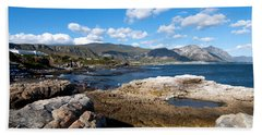 Hermanus Coastline Hand Towel