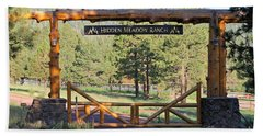 Hidden Meadow Ranch Hand Towel