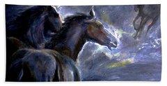 Horses Hand Towel
