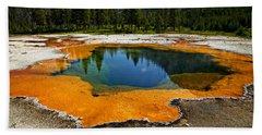 Hot Springs Yellowstone Hand Towel