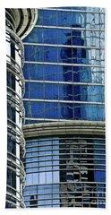 Houston Architecture 1 Hand Towel