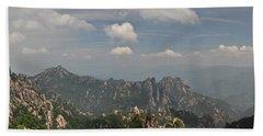 Huangshan Panorama 1 Hand Towel
