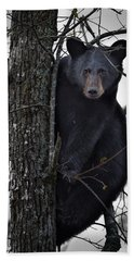 Hunting Berries Hand Towel