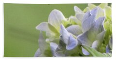Bath Towel featuring the photograph Hydrangea Blossom by Katie Wing Vigil