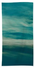Hand Towel featuring the photograph Icelandic Sky by Michael Canning