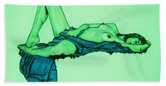 In Arms Of Morpheus Bath Towel