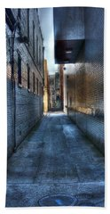 In The Alley Bath Towel by Dan Stone