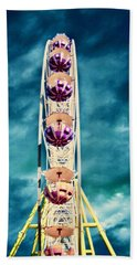 infrared Ferris wheel Bath Towel
