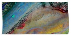 Hand Towel featuring the digital art Inner Peace by Richard Laeton