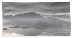 Hand Towel featuring the digital art Isle Of Serenity by Phil Perkins
