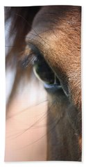 I've Got My Eye On You Bath Towel by Donna G Smith