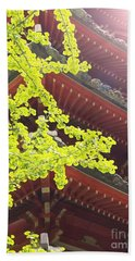 Japanese Tea Garden Bath Towel