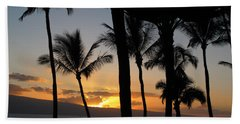 Ka'anapali Sunset Hand Towel
