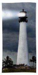 Key Biscayne Lighthouse Hand Towel