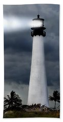 Key Biscayne Lighthouse Bath Towel