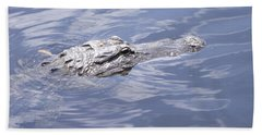 King Of The Everglades Bath Towel