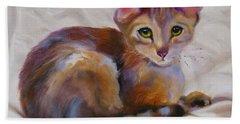 Kitten Princess Hand Towel