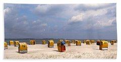 Laboe Beach ... Bath Towel