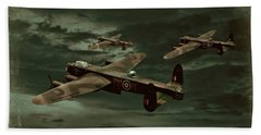 Bath Towel featuring the photograph Lancaster Mission by Steven Agius
