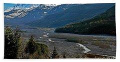 Landscape Of Mount St. Helens Volcano Washington State Art Prints Bath Towel by Valerie Garner