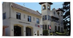 Larkspur Fire Department And City Hall - Larkspur California - 5d18502 Bath Towel