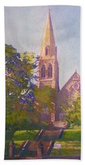 Leckie Memorial  Church  Peebles Scotland Bath Towel