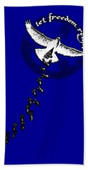 Let Freedom Reign Hand Towel by Tony Koehl
