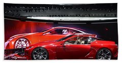 Lexus Lf-lc Bath Towel by Randy J Heath