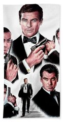 Licence To Kill  Digital Bath Towel