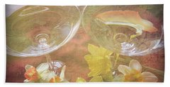 Hand Towel featuring the photograph Life's Simple Pleasures by Kay Novy