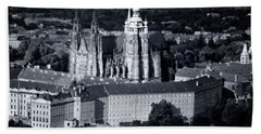 Light On The Cathedral Bath Towel