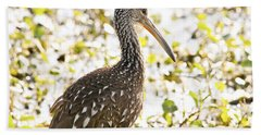 Limpkin Luster Hand Towel