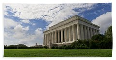 Lincoln Memorial And Sky Hand Towel