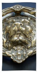 Lions Gate Hand Towel by Jean Haynes