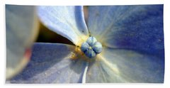Little Blue Flower Bath Towel by Kay Lovingood