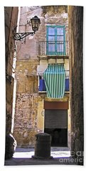 Little Street Of Palermo Bath Towel