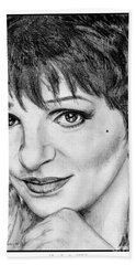 Liza Minnelli In 2006 Hand Towel