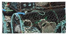 Lobster Pots Bath Towel