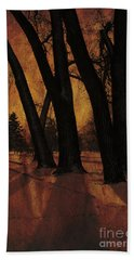 Long Shadows Hand Towel by Alyce Taylor