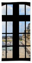 Louvre Window Bath Towel