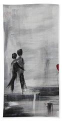 Love Story 1 Hand Towel