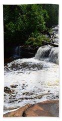 Lower Tahquamenon Falls Lll Bath Towel