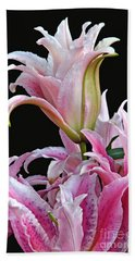 Luscious Lilies Hand Towel