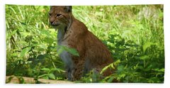 Lynx Bath Towel