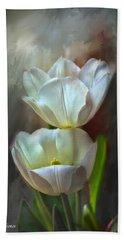 Majestic Tulips Bath Towel