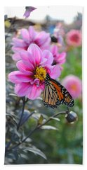 Bath Towel featuring the photograph Making Things New by Michael Frank Jr