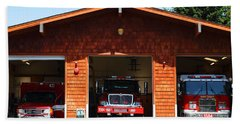 Marin County Fire Department . Point Reyes California . 7d15920 Bath Towel
