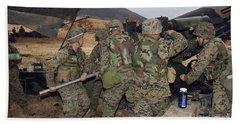 Marines Load A 98-pound High Explosive Bath Towel
