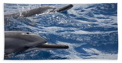 Maui Spinner Dolphins Hand Towel