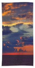 Mediterranean Sky Hand Towel by Mark Greenberg